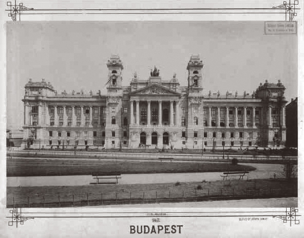 Royal Hungarian Palace of Justice around 1898