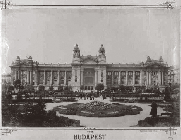 Budapest Stock Exchange in 1906