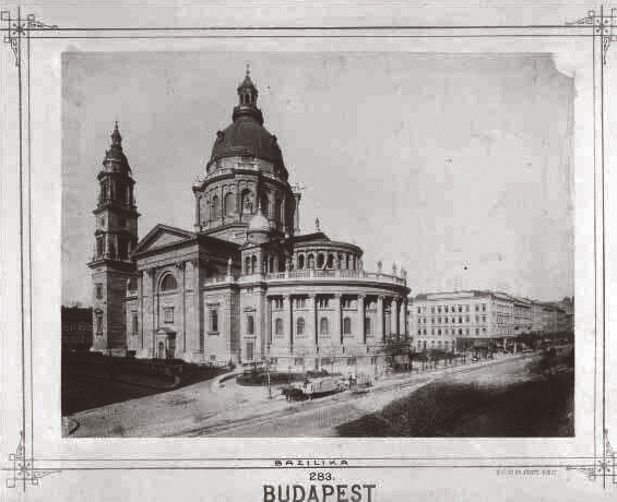 St. Stephen's Basilica in 1895