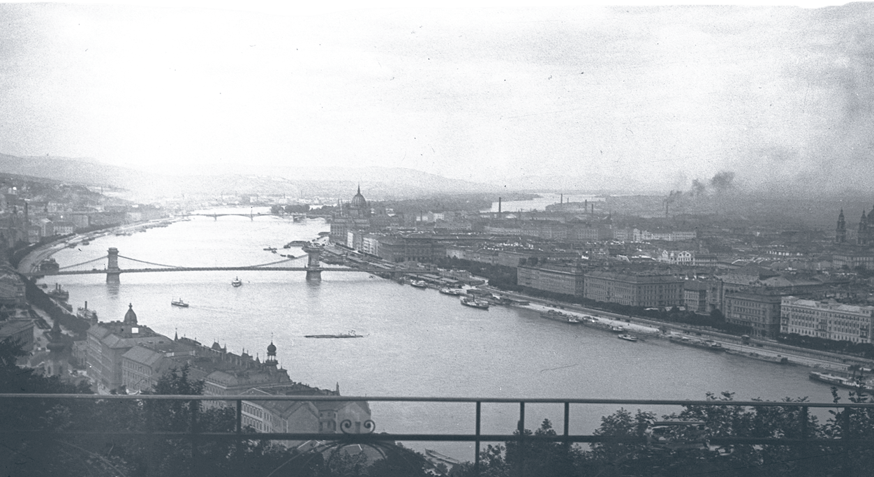 The view from Gellert Hill in 1904