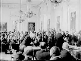 Treaty signing at Trianon Palace in 1919
