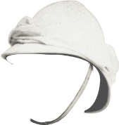 white safari helmet