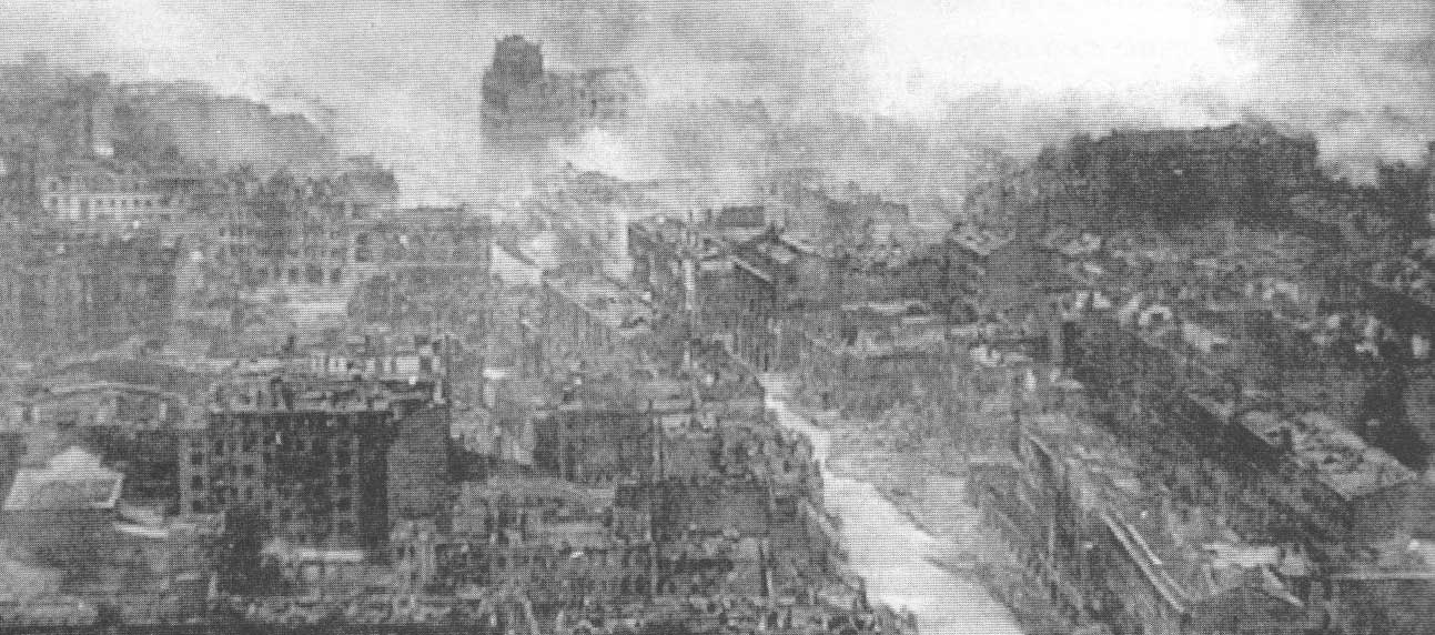 Kiev bombed to bits in 1941