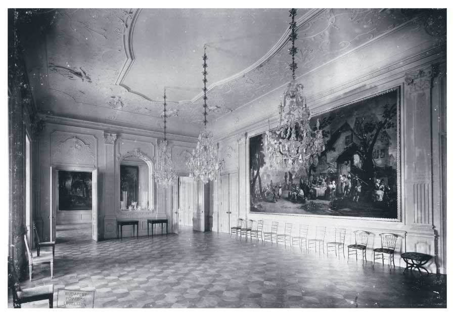 Tapestry Room in the Festetics Castle