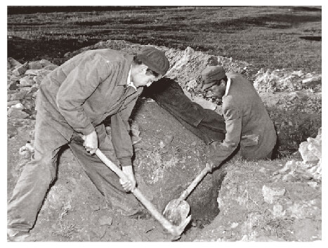 Digging up buried silverware during the Rákosi era