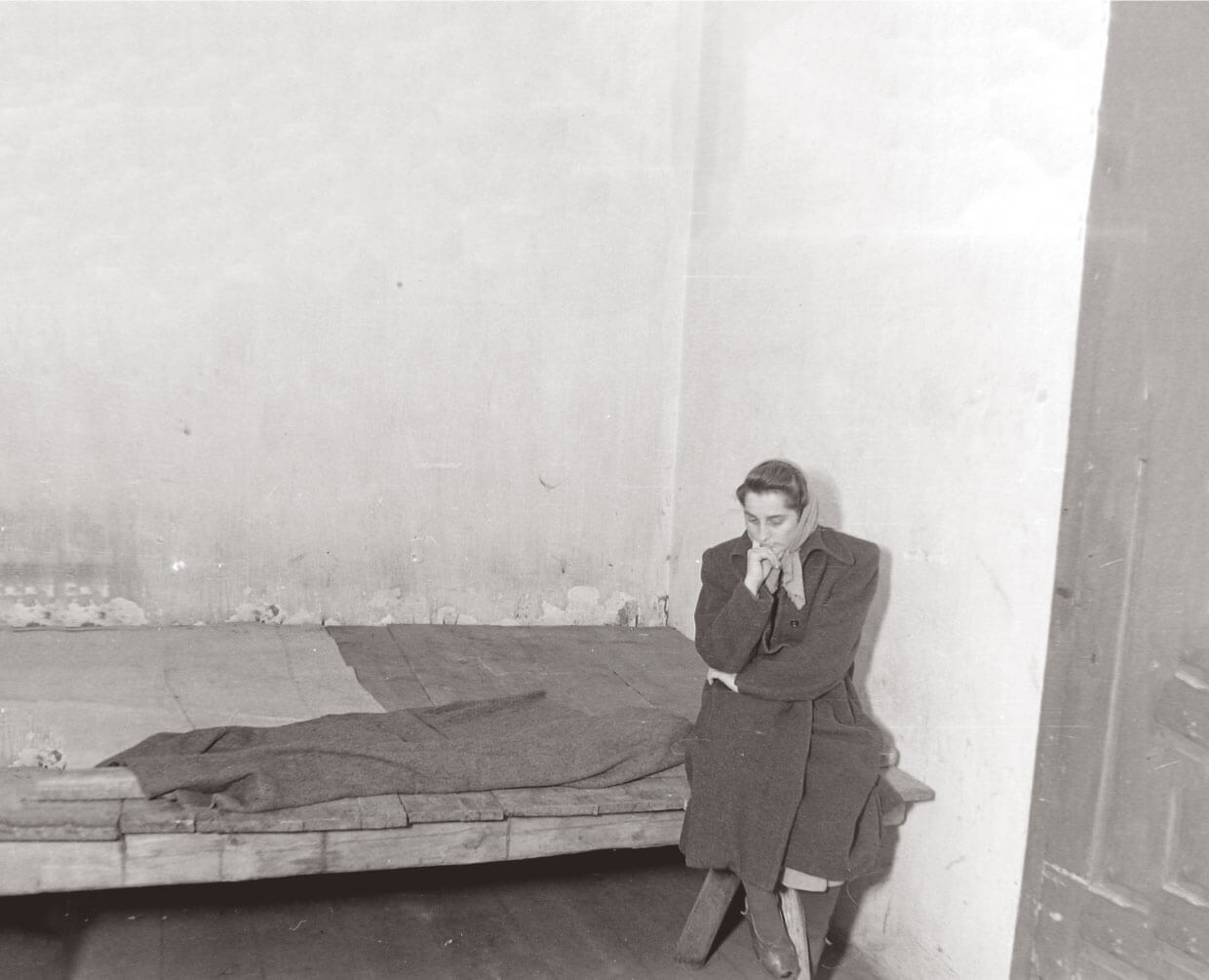 Woman in jail during the Rákosi era
