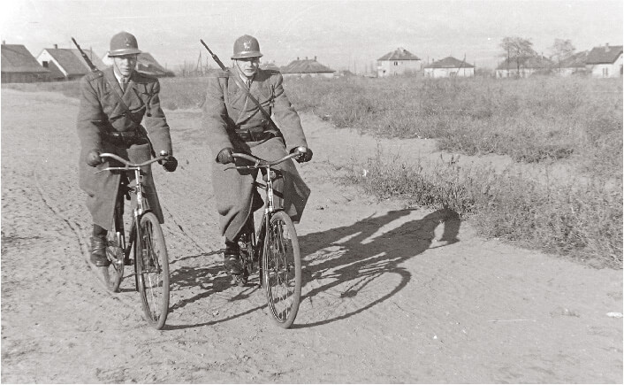 Bicycle Police during the Rákosi era