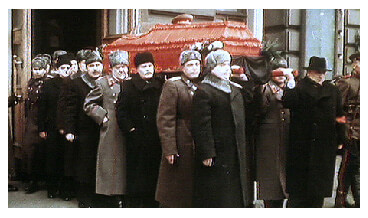 Stalin funeral in 1953