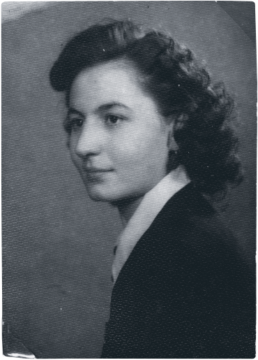 Ari's school photo in 1953