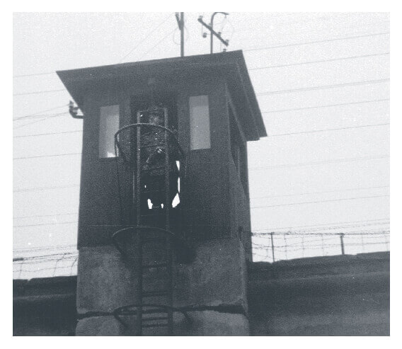 Jail tower in Hungary in 1954