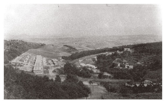 Tólapa mine camp in Hungary during the 1950s
